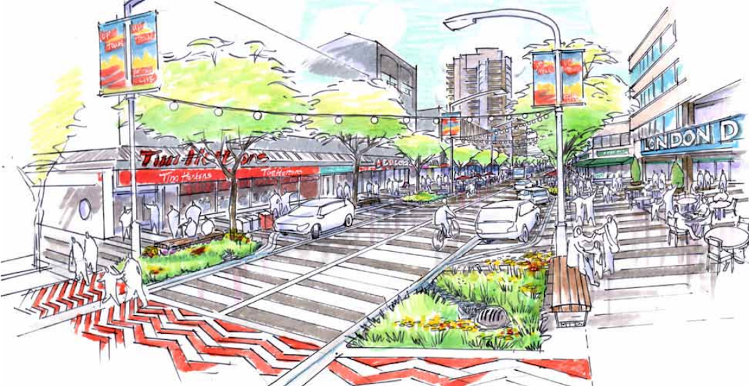 New Westminster outlines transformative redesign of streets in Uptown district