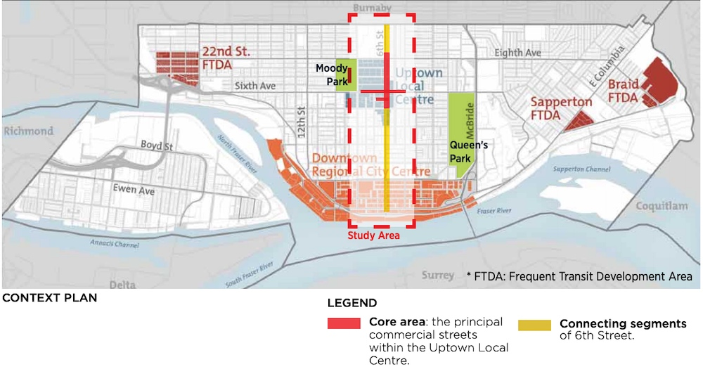 new westminster uptown streetscape vision