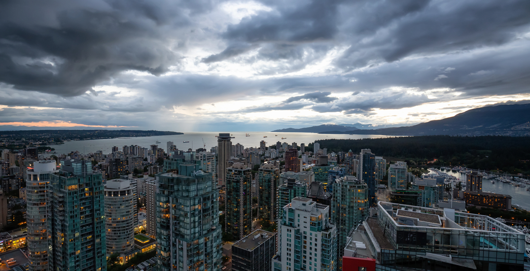 It's supposed to rain every day this week in Vancouver