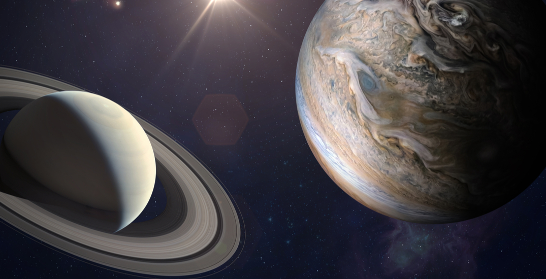 Jupiter and Saturn to have closest visible encounter in nearly 800 years