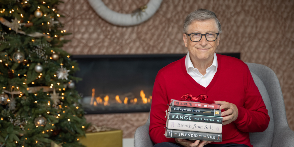 Here are 5 books you need to read, according to Bill Gates