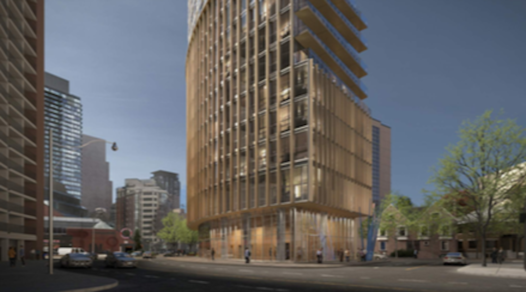 Toronto could have 30-storey condo tower similar to flatiron building