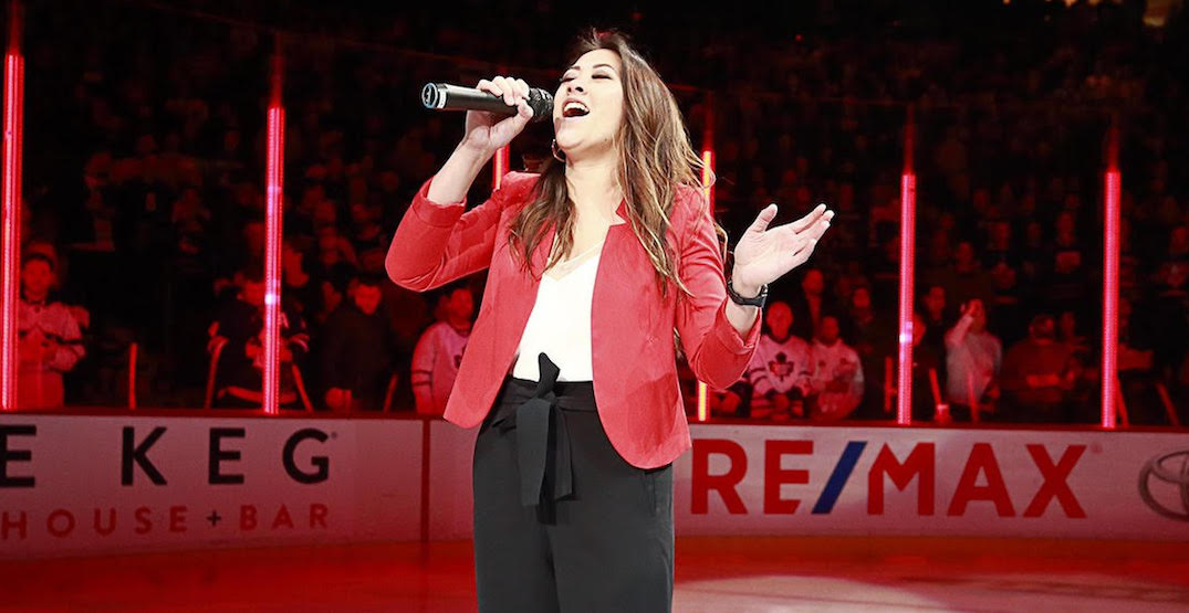 Canucks fans are pushing for Marie Hui to take Mark Donnelly's anthem singer spot