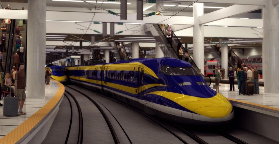 New report outlines next steps for Vancouver-Seattle-Portland high-speed rail
