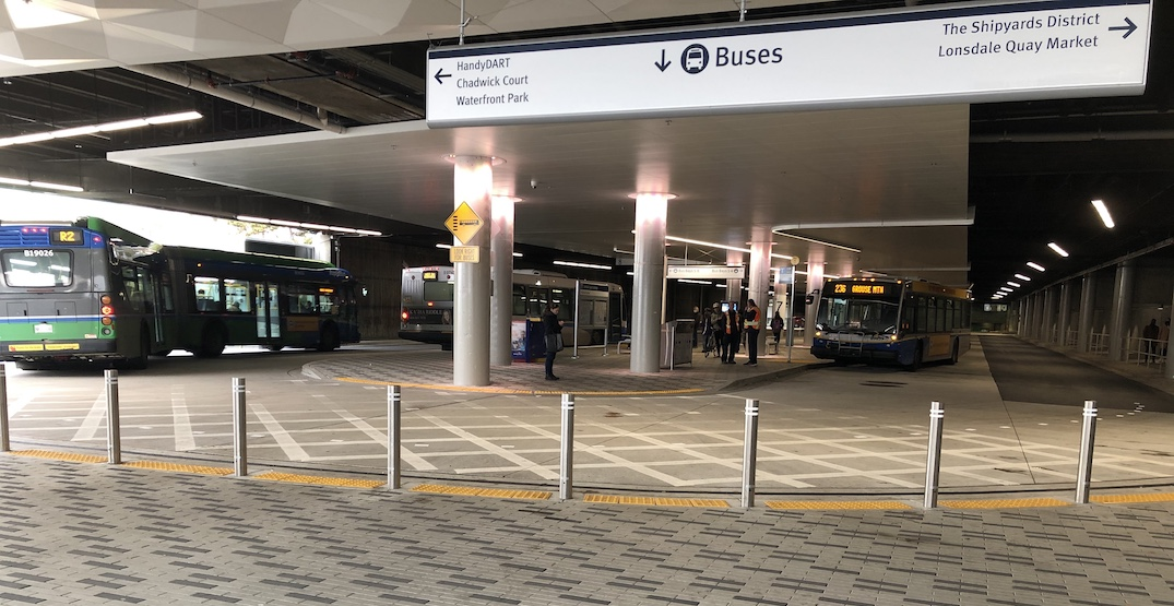 Lonsdale Quay bus exchange renovations reach full completion (PHOTOS)