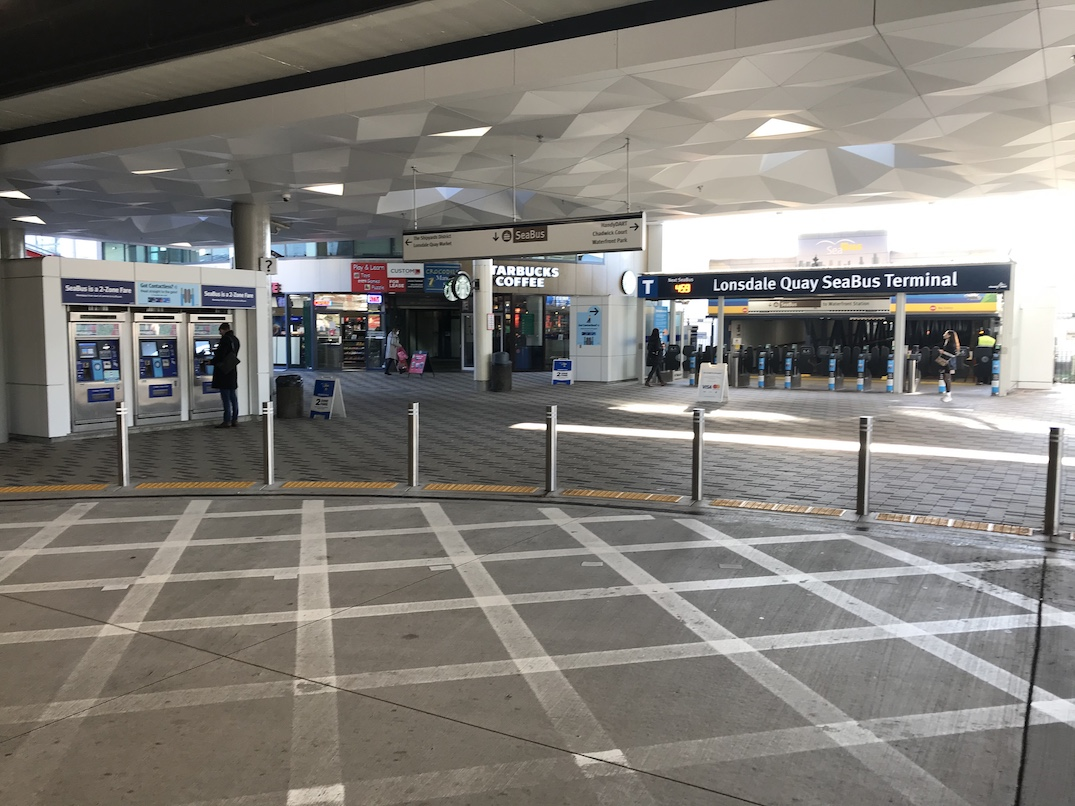 lonsdale quay bus exchange renovations