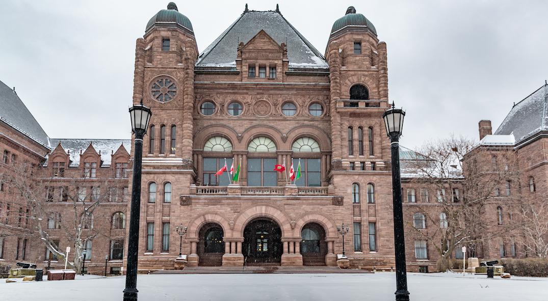 Ontario legislature adjourns for two-month winter break
