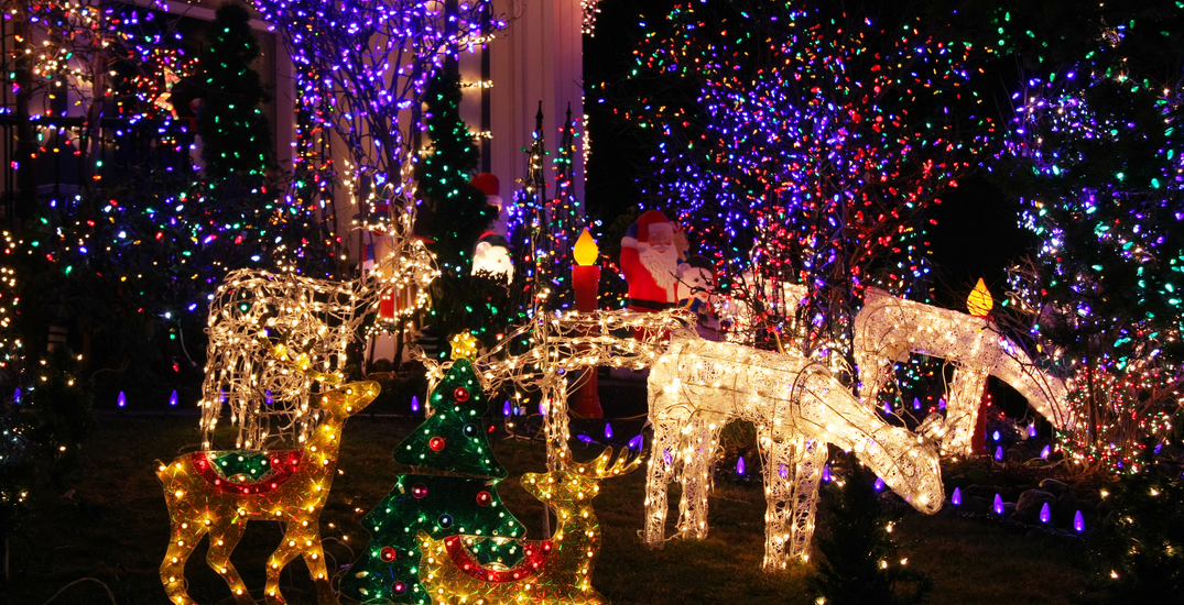 An enchanting 2 km holiday lights drive-thru is coming to Vancouver this weekend