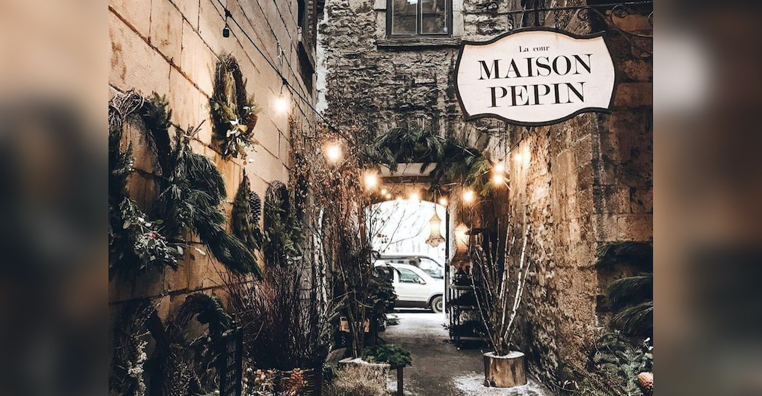 11 shots from Old Montreal's magical Christmas alleyway (PHOTOS)