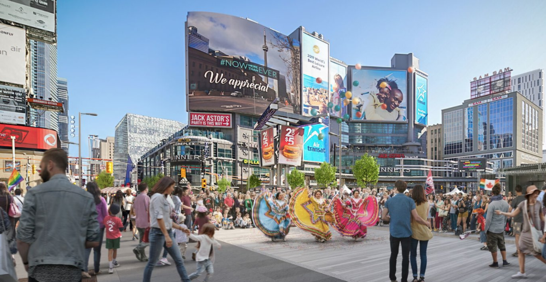 "Eaton Centre owner says pedestrian-only Yonge Street would be ""damaging"""