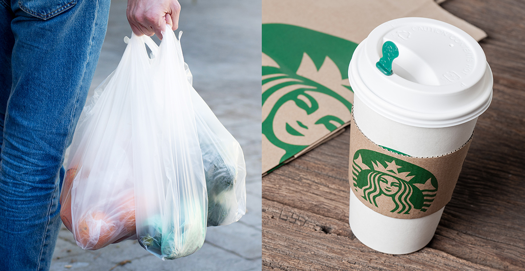 City of Vancouver's plastic bag ban and disposable cup fees to begin in 2022