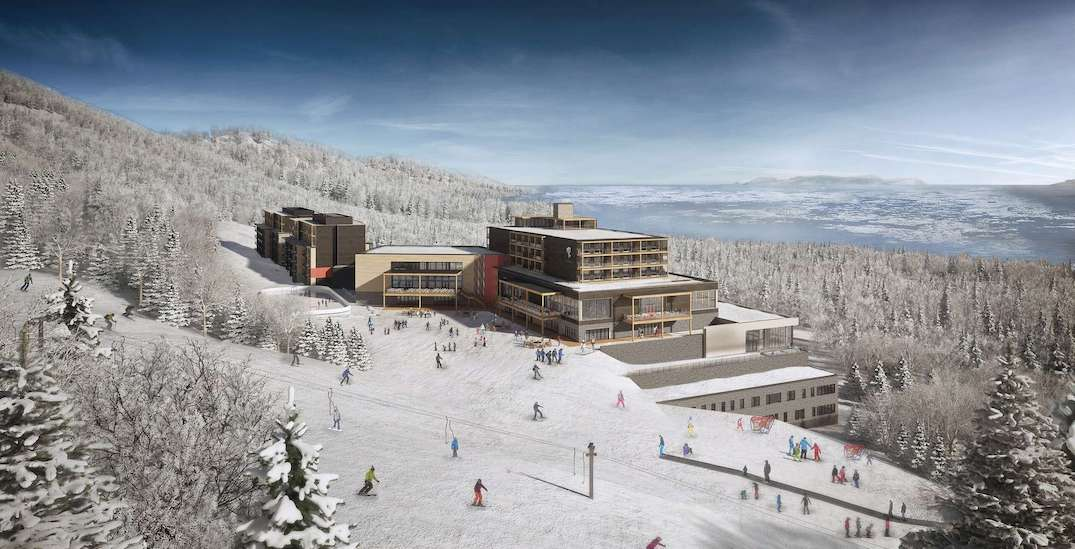 Canada's first all-inclusive mountain resort is coming to Quebec