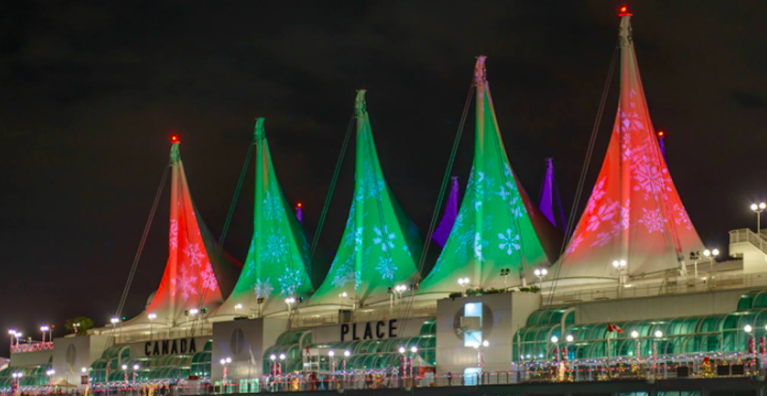 A virtual concert and Christmas display is coming to Canada Place