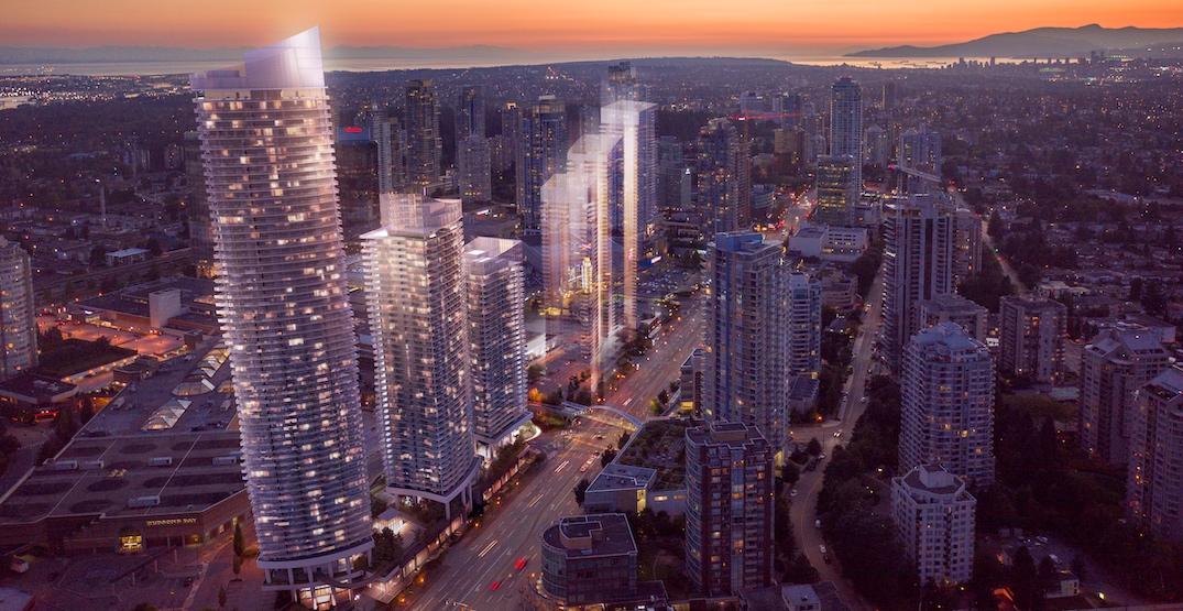 metropolis at metrotown redevelopment