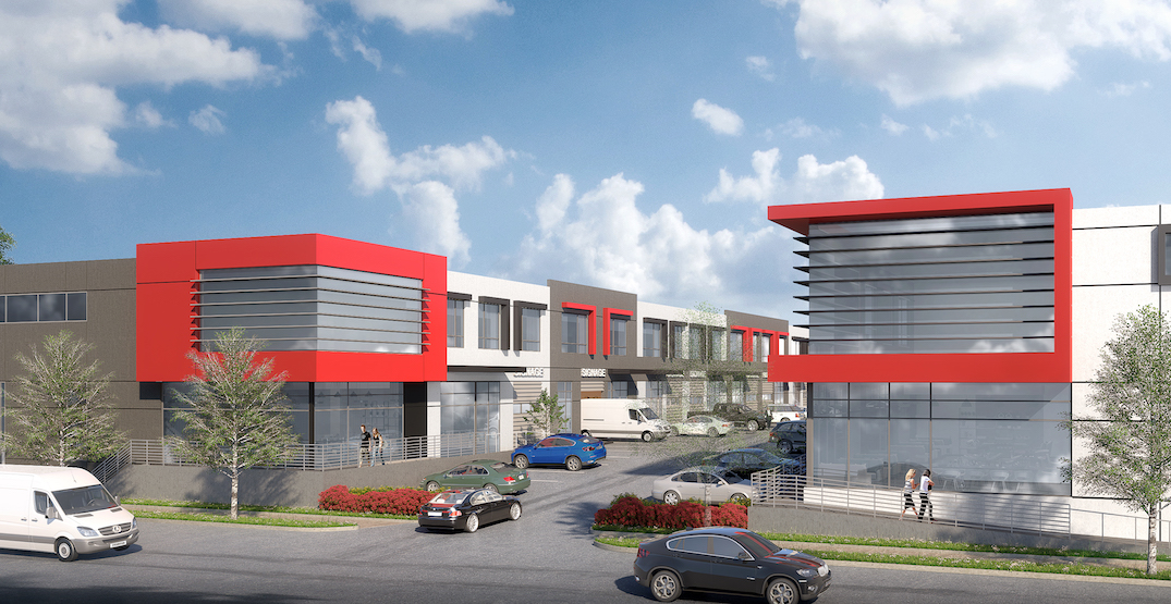 New industrial buildings proposed for South Vancouver
