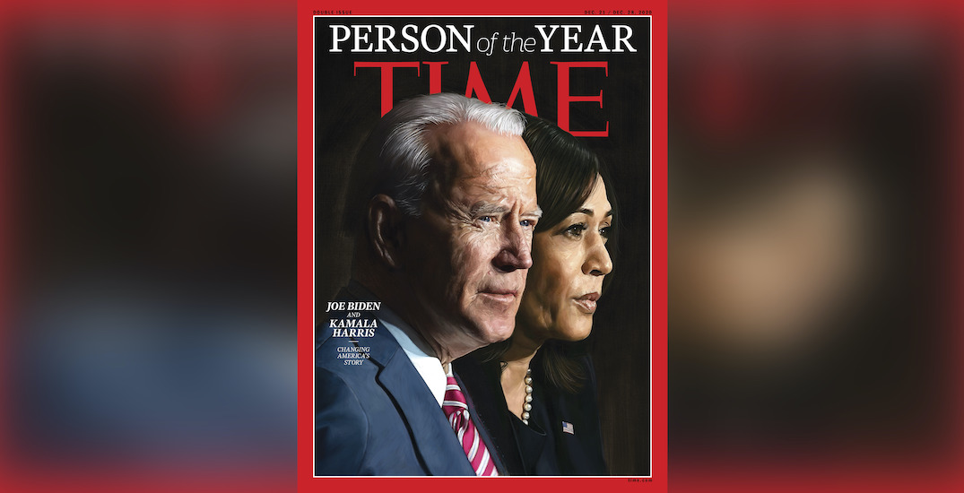 Canadian-raised Kamala Harris joins Joe Biden as Time's 'Person of the Year'