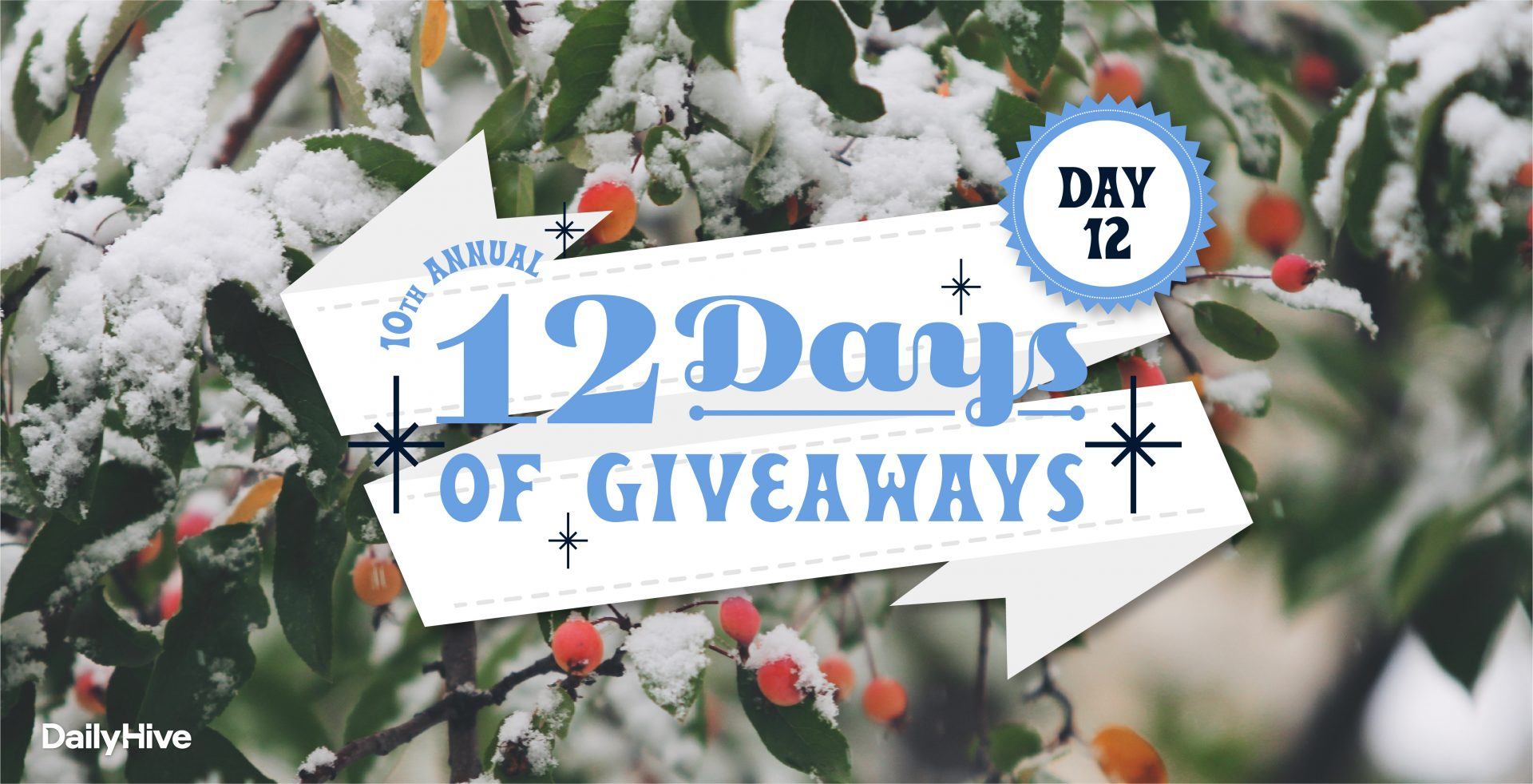 12 Days of Giveaways: $300 gift card from Cactus Club Cafe