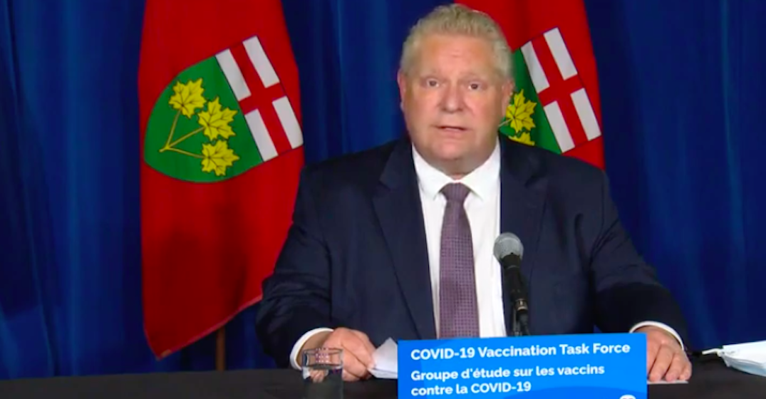 Ontario to receive 90,000 COVID-19 vaccines in hotspots this December