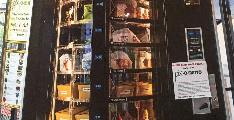 A cake vending machine has arrived in Portland