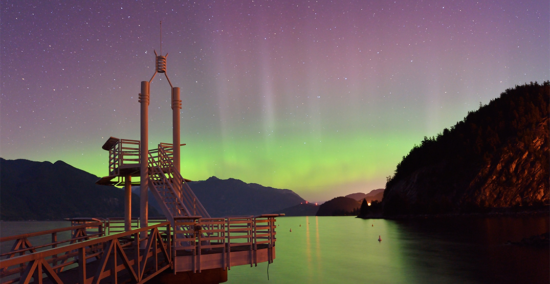 Northern lights unlikely to be visible from Vancouver this weekend