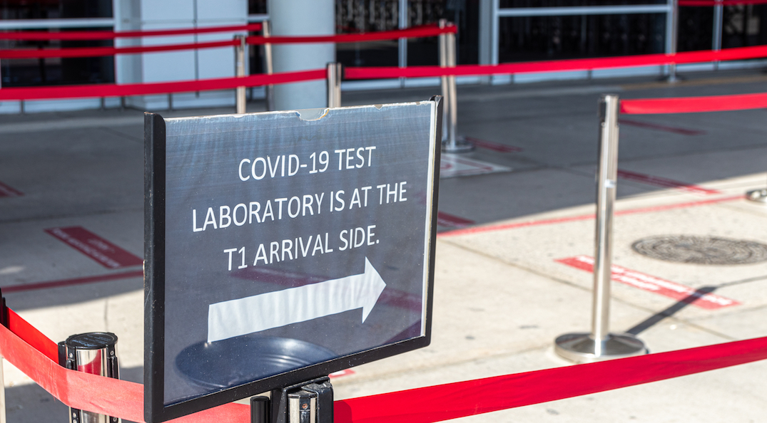 Outbound international travellers to pay for COVID-19 test in Ontario