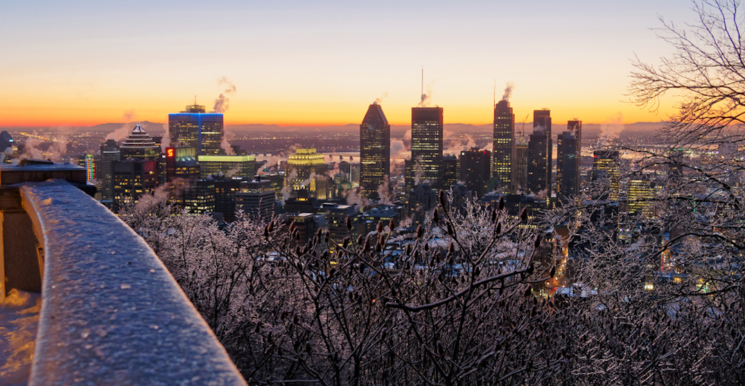 It's going to feel like -19°C in Montreal this week