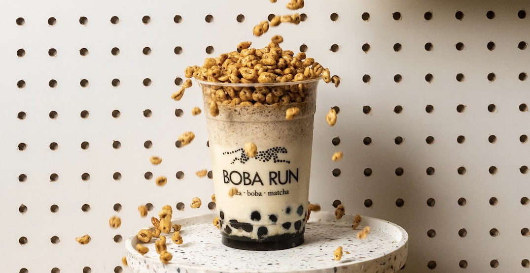 Boba Run is officially opening in Gastown today
