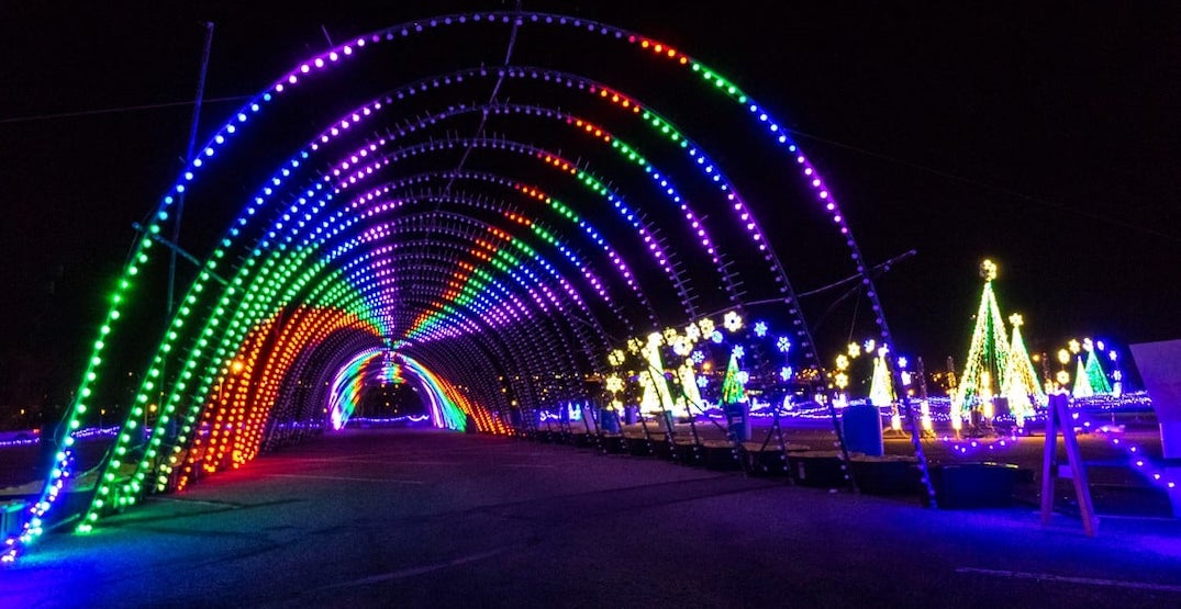 Clackamas County Fairgrounds have transformed into a magical winter wonderland