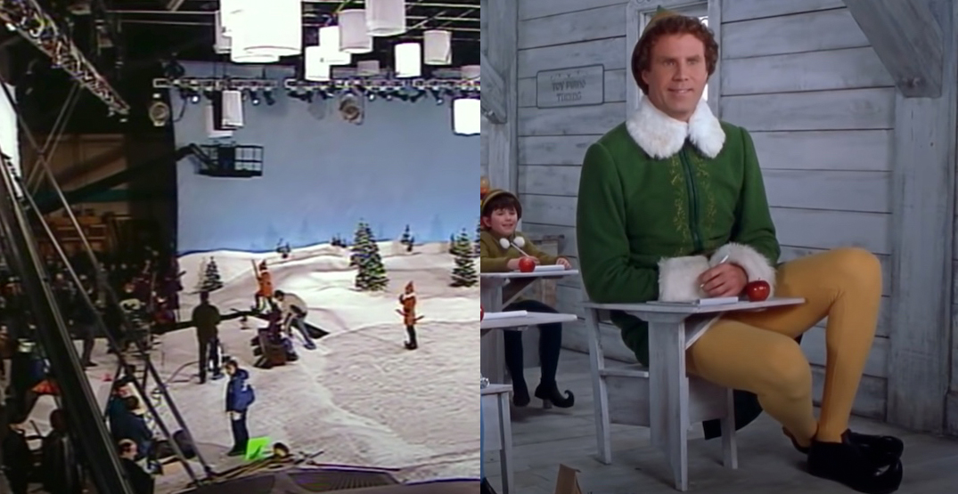 "This is how Will Ferrell's Christmas classic ""Elf"" was filmed in Vancouver (VIDEO)"