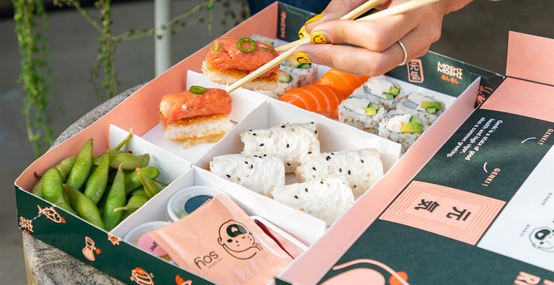 A new delivery-only restaurant brings beautiful bento boxes to Portland