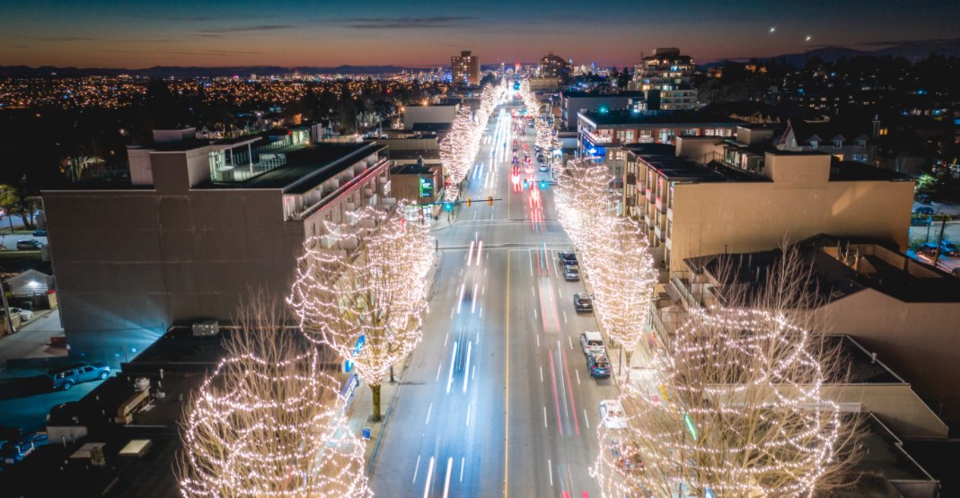 Where to find the most dazzling holiday lights in Burnaby