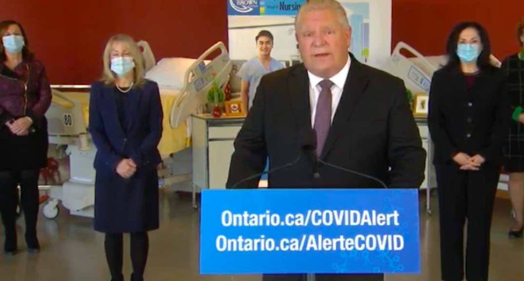 Doug Ford doesn't think Ontario needs curfews as COVID-19 cases surge