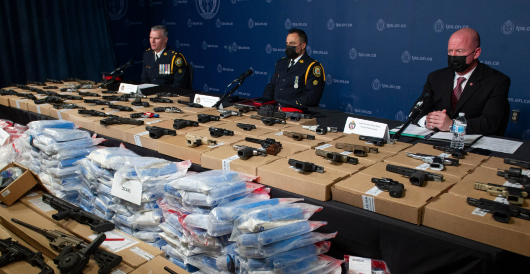 Police recover over $18M worth of drugs, 65 firearms in its biggest single-day seizure