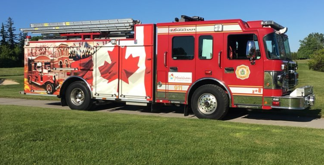 Seven Markham firefighters test positive for COVID-19