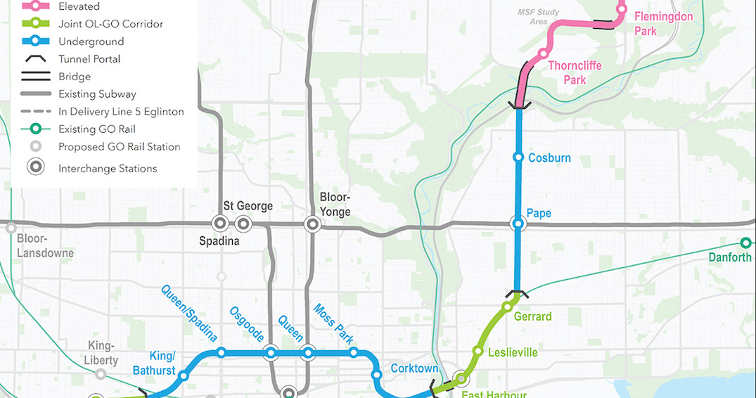 Provincial government takes next steps for Ontario Line Subway Project