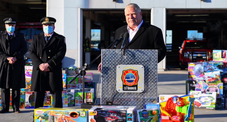 Ford declares Santa Claus an essential service