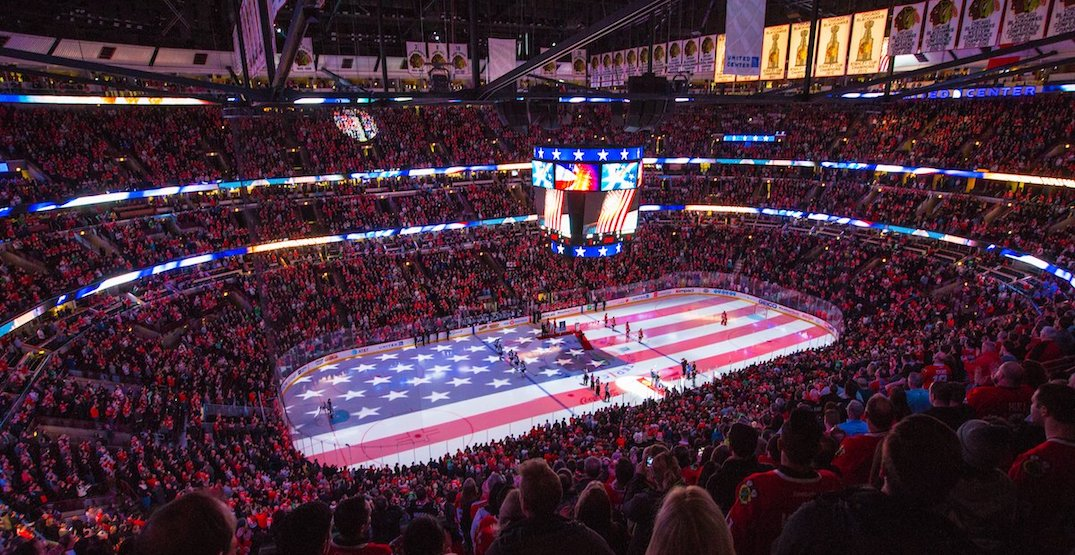 NHL considering playing all games in the United States next season: report