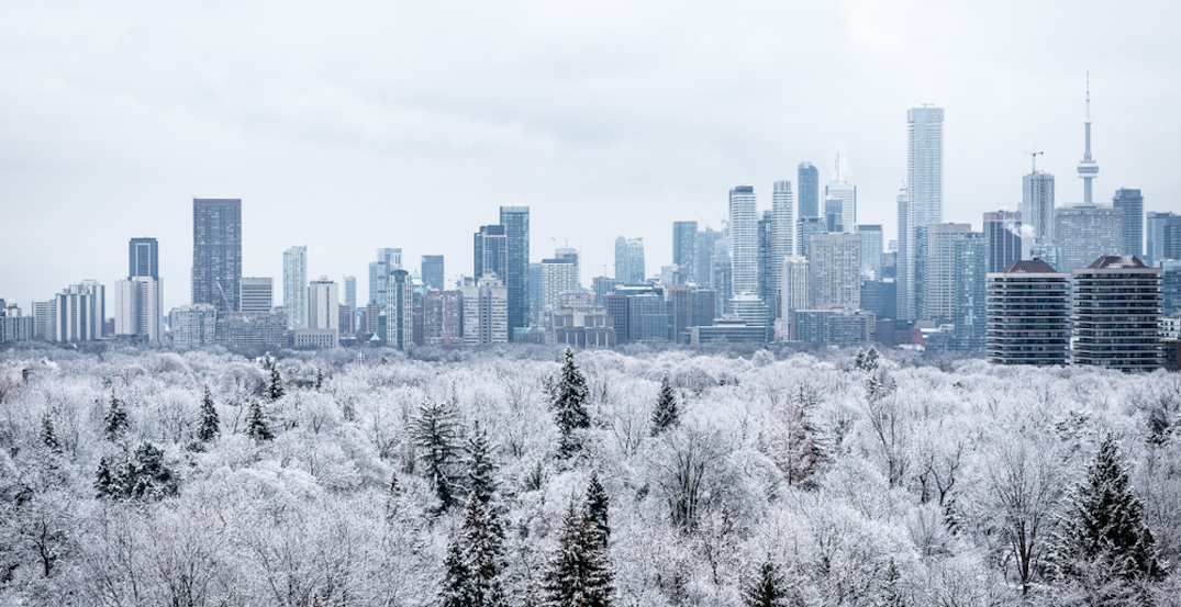 There's a chance Toronto will see a White Christmas