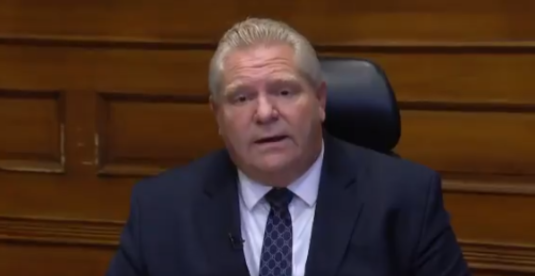 Toronto and Peel will remain in lockdown next week: Ford