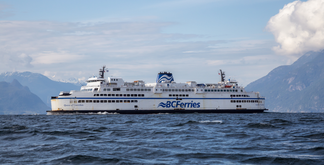 Police remove man from ferry terminal for refusing to wear mask