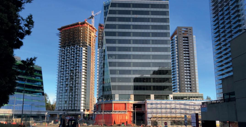 pci developments king george hub phases b c under construction surrey