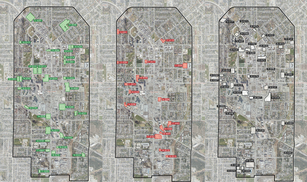 surrey developments approved construction proposed map