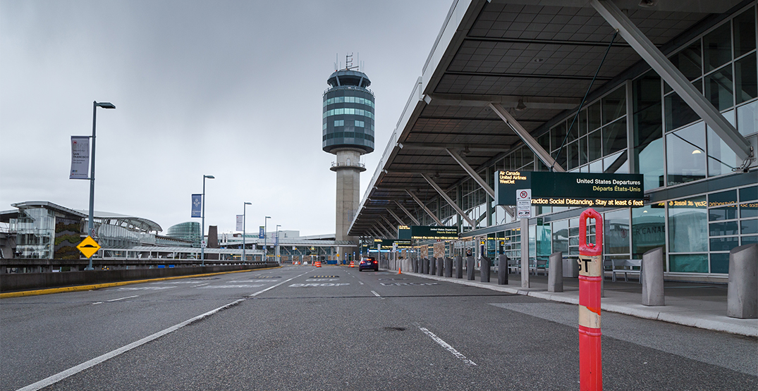 Canadian airports seeing drastically diminished traffic over holidays