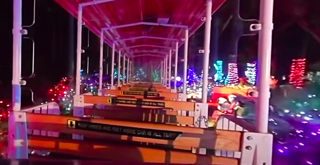 Take a virtual ride on the Stanley Park Bright Nights Christmas Train (VIDEOS)