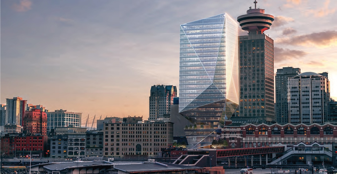 Waterfront Station crystal office tower proposal stalled yet again
