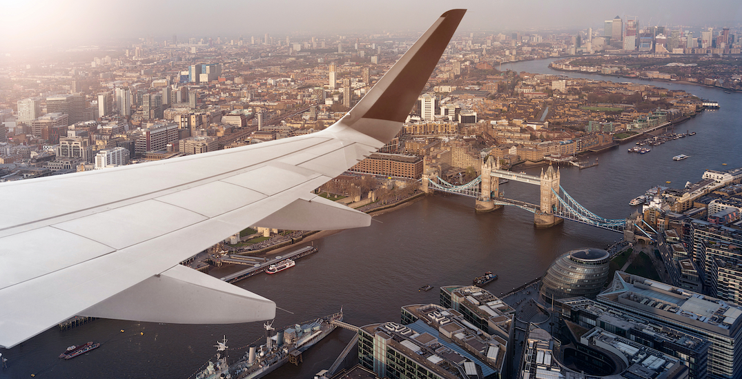 Canada ends flight ban from the United Kingdom