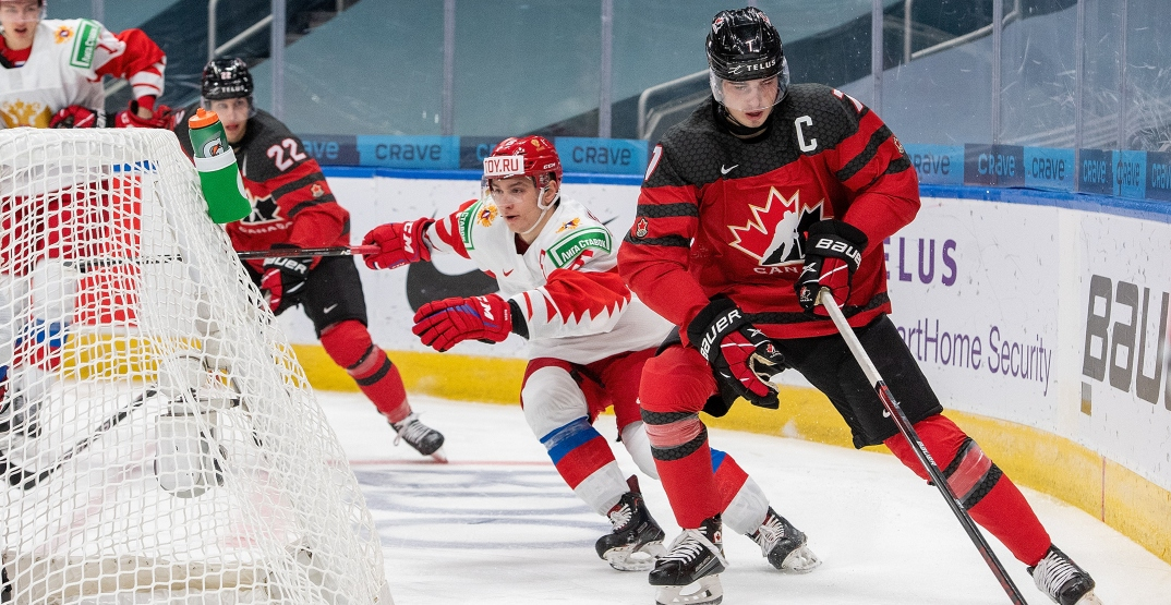 Canada shuts out Russia in World Juniors warmup