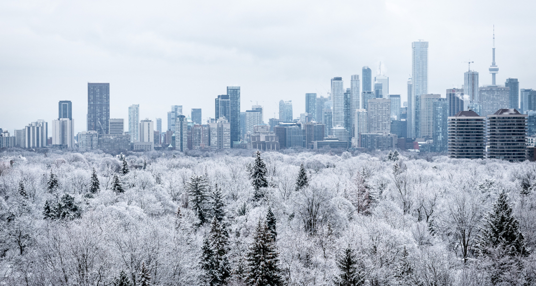 Toronto could be hit with up to 5 cm of snow tomorrow