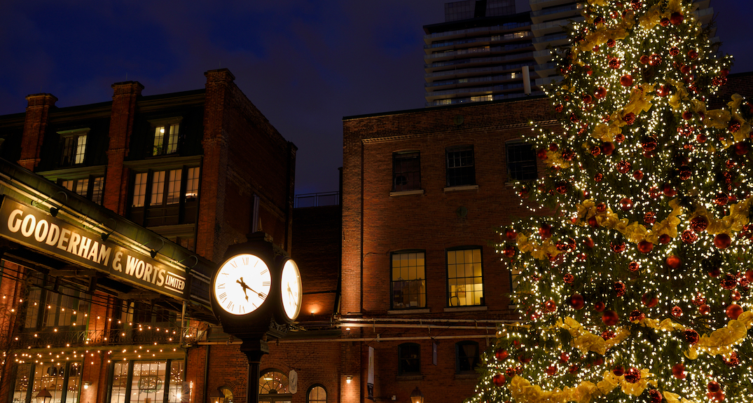 Distillery District shutting off holiday lights to support lockdown