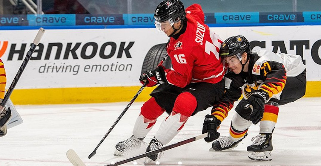 Canada scores 16 goals in World Juniors blowout over Germany